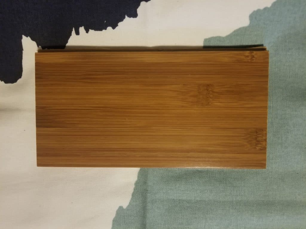 Honey Solid bamboo color
