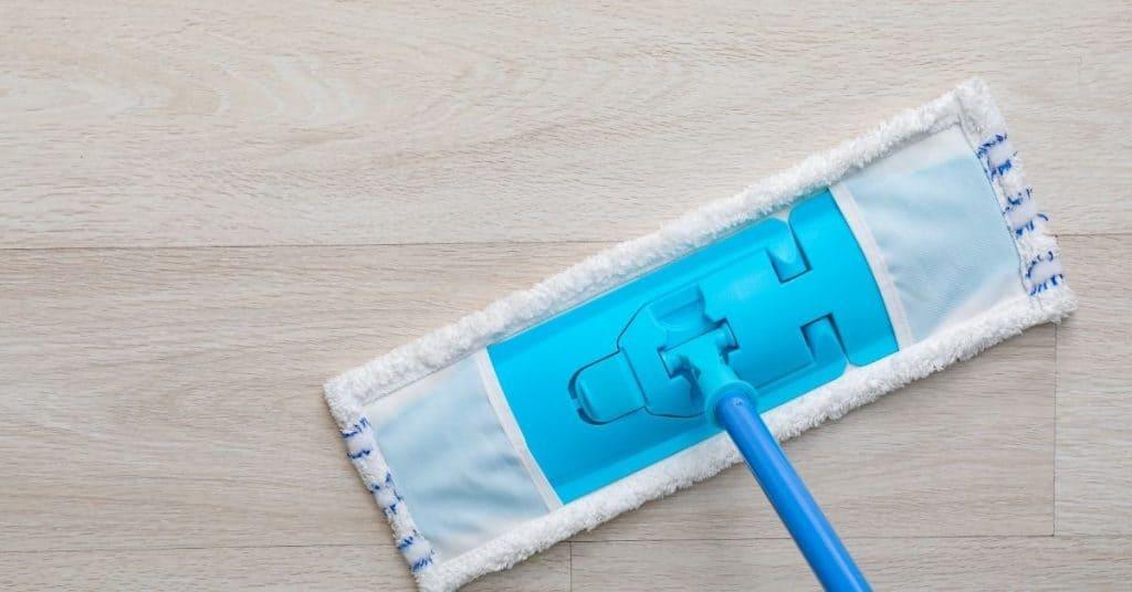 Damp-Mop Your Laminate Floors Regularly